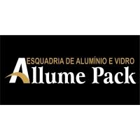 ESQUADRIA DE ALUMÍNIO E VIDRO ALLUME PACK