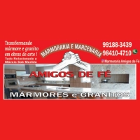 MARMORARIA E MARCENARIA AMIGOS DE FÉ